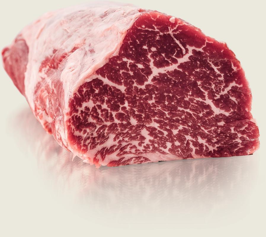 Мраморное мясо представителей абердин