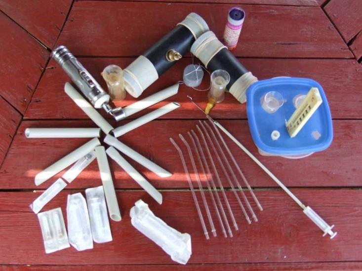 Инструменты для проведения искусственного осеменения