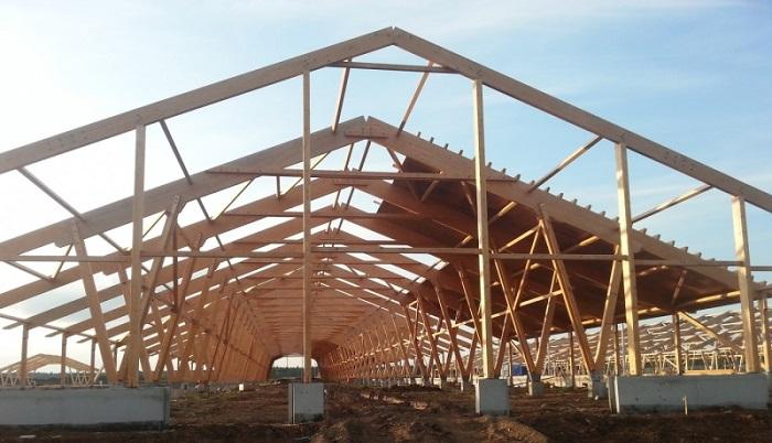 Строительство деревянной фермы