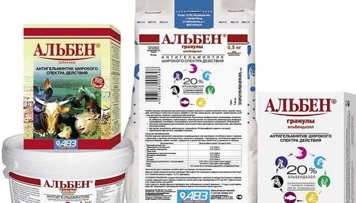Разновидности препарата Альбен