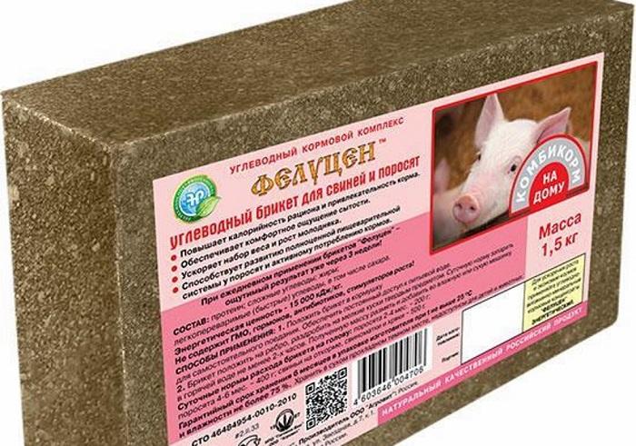 добавка к корму свиней