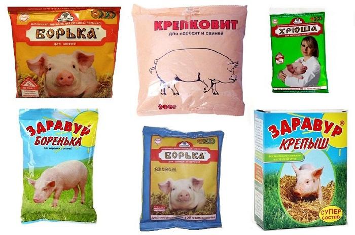 добавки в корм свиньям