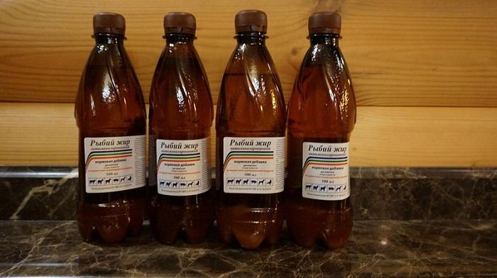 жир в бутылках