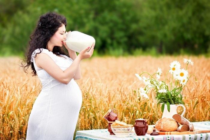 молоко для беременной