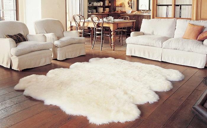коврик из овчины