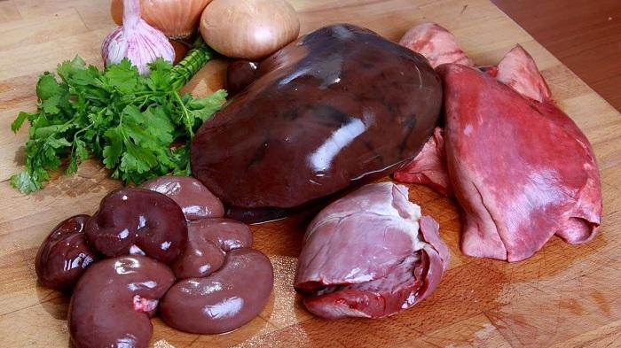 субпродукты баранины