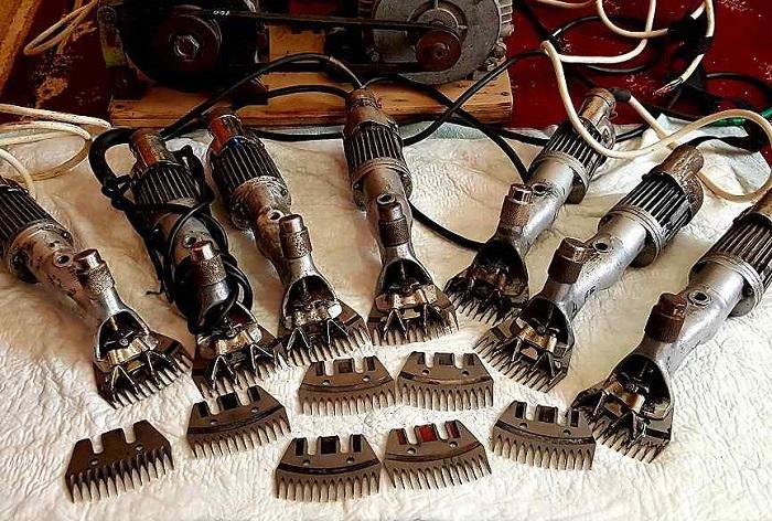 много машинок для стрижки