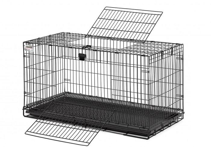 Цельно проволочная клетка для кроликов