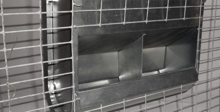 кормушка на сетке